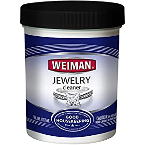 Weiman Jewelry Cleaner Liquid – Restores Shine and Brilliance to Gold, Diamond, Platinum Jewelry and Precious Stones – 7…