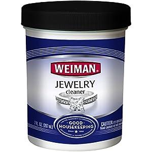 Weiman 2306 Jewelry Cleaner Liquid &ndash Restores Shine and Brilliance to Gold, Diamond, Platinum Jewelry & Precious…