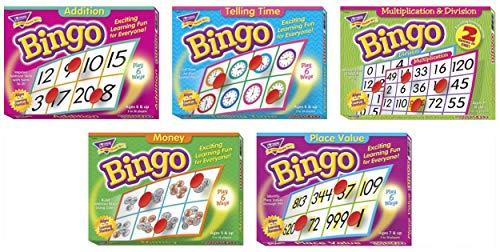Trend Enterprises Elementary Math Bingo Game Set - Set of ()