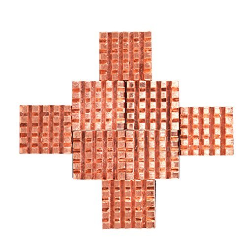 Ddr Sdram Controller - Ram Cooler, Cooling Copper Heatsink for Raspberry Pi VGA RAM Cooling Heatsinks Cooler (8 Pieces)