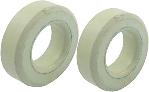 X-DREE 2 peças branco azul ferro núcleo indutor ferrite