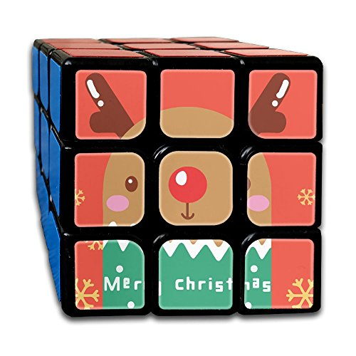 Tina TN 3x3 Easy Turning And Smooth Play Durable Cute Reindeer Magic Cube Toy Third Order - Online Shopping Edmonton