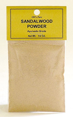 Pure Sandalwood Powder - 1/2 Ounce