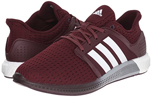 34a04aeff0ad9 adidas Performance Men s Solar Boost M Running Shoe Maroon White Power Red  - 8