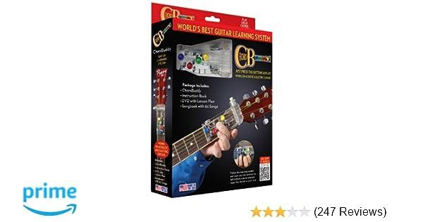 Amazon.com: ChordBuddy Chordbuddy Guitar Learning System and ...