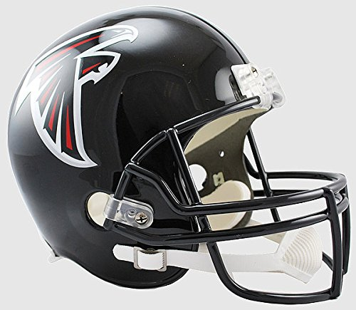 (Riddell NFL Atlanta Falcons Replica Vsr4 Full Size Football Helmet)