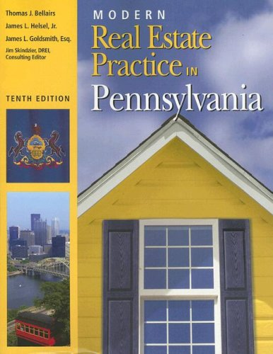 Modern Real Estate Practice in Pennsylvania