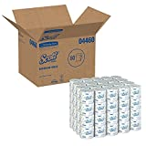 Kimberly-Clark Professional GID-881029 Scott 2-Ply Standard Roll Bathroom Tissue, White (Case of 80 Rolls) (1 CASE)