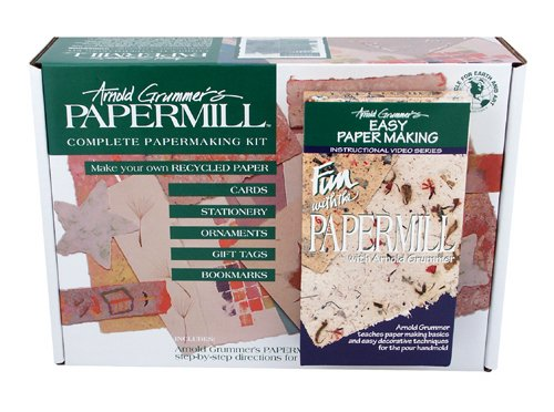 Arnold Grummer Papermill Complete Papermaking Kit with DVD
