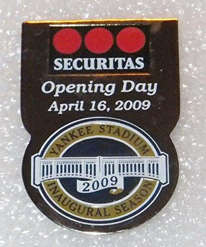 - YANKEE STADIUM INAUGURAL SEASON 2009 OPENING DAY NY SECURITY STAFF EMPLOYEE PIN