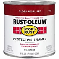 Rust-Oleum 7765502 Protective Enamel Paint Stops Rust, 32-Ounce, Gloss Regal Red by Rust-Oleum