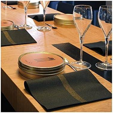 Lot de 20 Serviettes DE Table INTISSE 40 X 40 CM Voie LACTEE Nuit FRANCOISE PAVIOT SEVLN