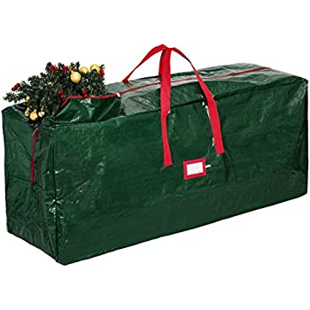 Zober Christmas Tree Storage Bag   Artificial Up To 9u0027 Christmas Tree  Organizer For Un