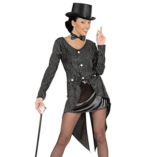 [Glitter Tailcoat Womens Costume Large For Hardy Hollywood Film Fancy Dress] (Hollywood Film Fancy Dress Costumes)
