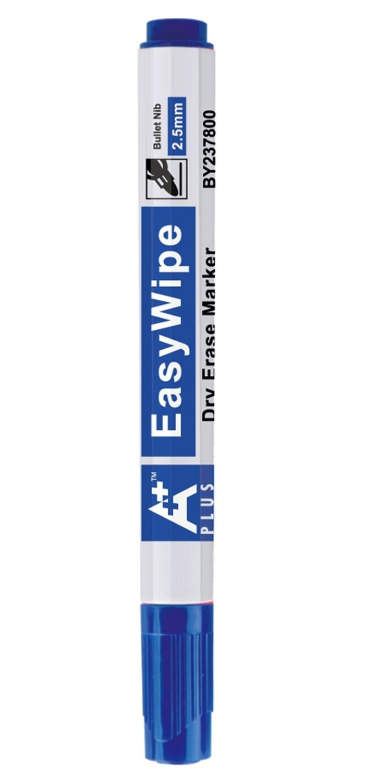 A Plus/ /Juego de 3/rotuladores pizarra blanca borrable punta redonda 2,5/mm azul