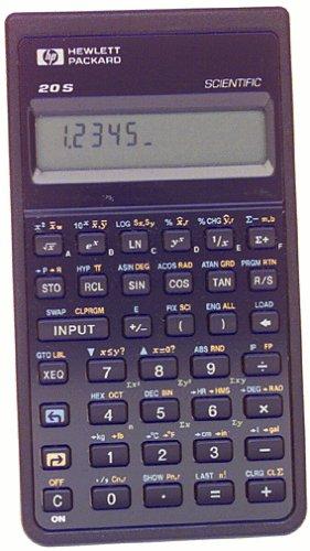 - HP HP20S Scientific Calculator