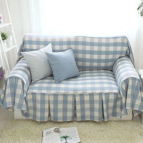 OSY azul Plaid sofá toallas de Inglaterra cubierta doble cara ...