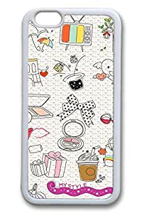 Girls Day Cover Case Skin for iPhone 6 4.7 Inch Soft Rubber White