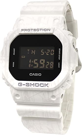 CASIO(カシオ) DW-5600SL-7DR CASIO G-SHOCK スラッシュ パターン シリーズ ホワイト [並行輸入品]