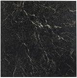 Achim Home Furnishings FTVMA40920 Nexus 12-Inch Vinyl Tile, Marble Black with White Vein, 20-Pack