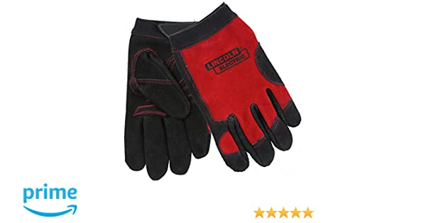 Lincoln Electric KH799L Work Gloves, Large, Red: Amazon.com: Industrial & Scientific