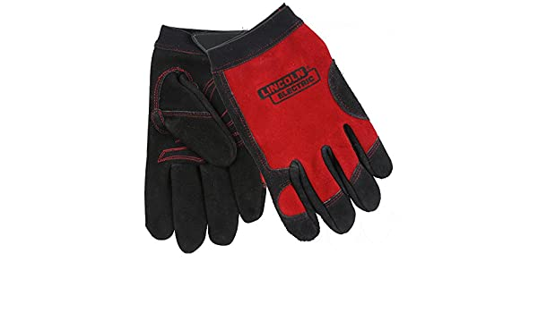 Lincoln Electric Guantes de trabajo Lincoln Electric KH799XL, X-Large, rojo: Amazon.es: Amazon.es