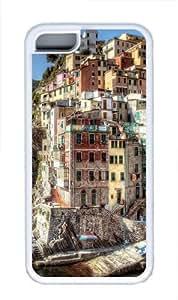 Hdr Riomaggiore Italy TPU Case Cover for iPhone 5C White