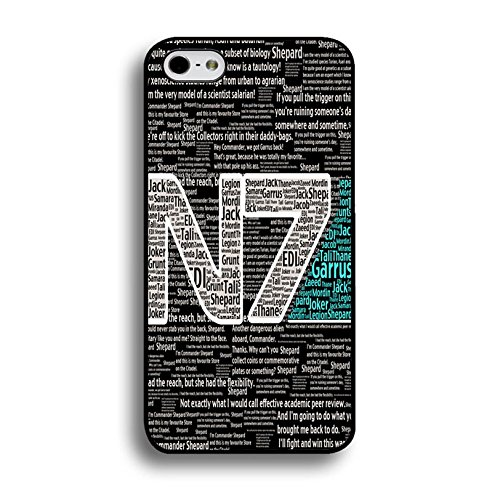 Iphone 6 Plus / 6s Plus ( 5.5 Inch ) N7 Unique Design Cover Shell Special Creative Quotes Design RPG Game Mass Effect N7 Logo Design Phone Case Cover for Iphone 6 Plus / 6s Plus ( 5.5 Inch )