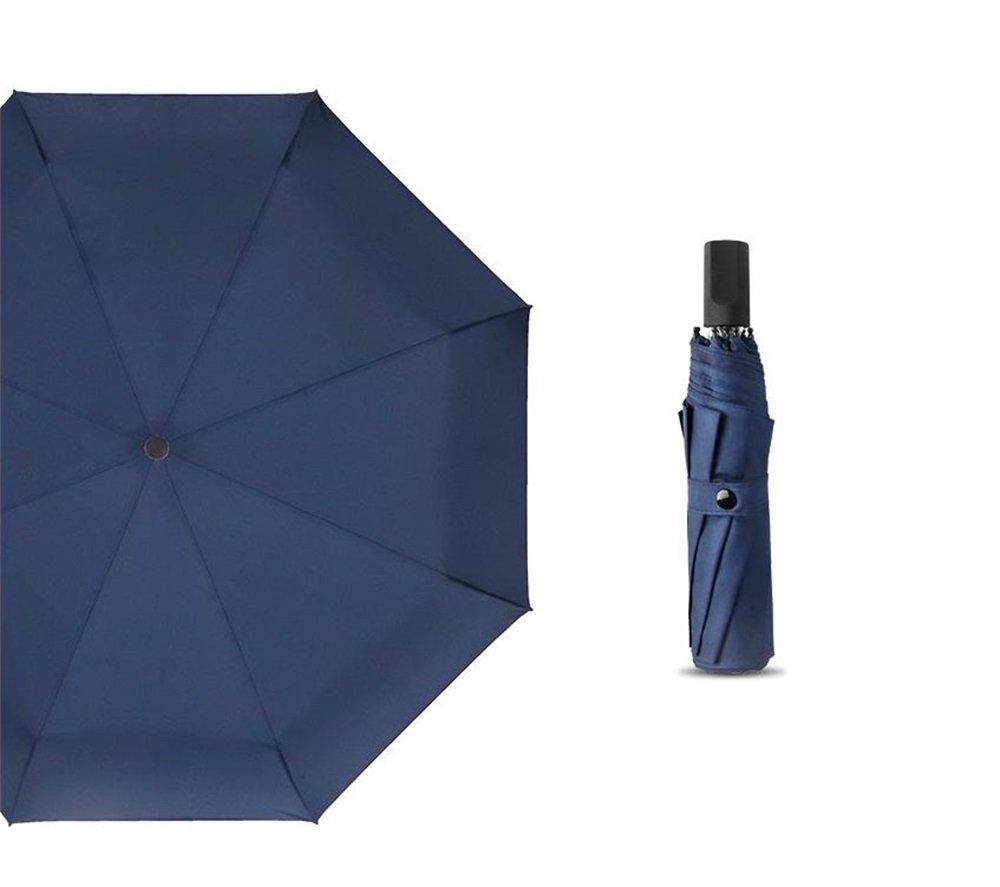 XnZLXS-paraguas viajes Sombrilla Plegable Simple para Hombre Sombrilla para Turismo sombrilla Sombrillas Ligeras compactas Resistentes al Viento: Amazon.es: ...
