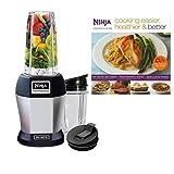 Nutri Ninja Pro 900W Professional Blender w/Cookbook (Certified...