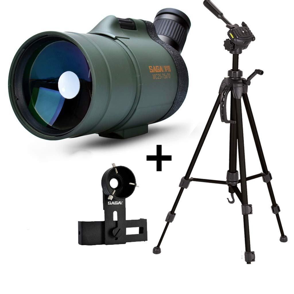 【大注目】 1.4メートル三脚マウント付き20-75x70単眼双眼鏡、大人のためのナイトビジョン望遠鏡、バードウォッチングハイキングコンサートのための防水望遠鏡 B07MFS6H43 B07MFS6H43, ふるさと納税:fb6cdd8e --- a0267596.xsph.ru