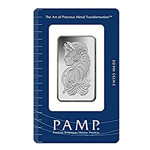 Silberbarren 1 Unze Silber Fortuna der PAMP SUISSE