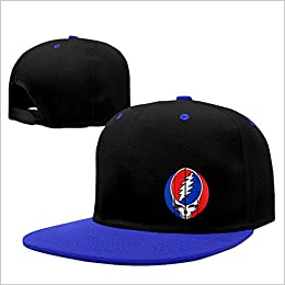 Amazon.com  BestSeller Unisex Custom Steal Your Face Grateful Dead Hip Hop  Snapback Adjustable Baseball Caps Hats RoyalBlue  Books f349dc2e0c9