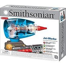 Smithsonian Jet Works Working Jet Engine Model Science Kit