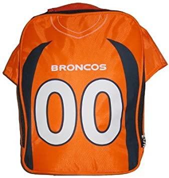 competitive price debf6 72cc4 Team Beans Denver Broncos Official NFL Jersey Lunch Bag ...