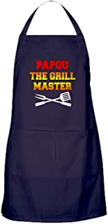 CafePress - Papou The Grill Master - Kitchen Apron with Pockets