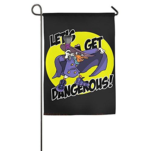 Darkwing Duck Lets Get Dangerous One-Sided,Decorative Nylon Garden Flag (Darkwing Duck Halloween)