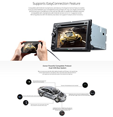 amazon com eonon ga6173f android 5 1 car dvd player special for amazon com eonon ga6173f android 5 1 car dvd player special for ford f150 2005 2008 f350 2007 lollipop in dash gps radio stereo 7 inch 2 din multimedia