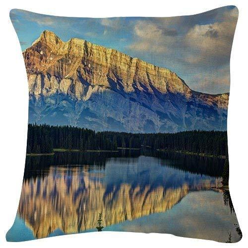 Sofa Amalfi (dhf016974s 18x18 Inch Plush Cushion Covers Throw Pillowcases - Amalfi Coast Italy Gulf Salerno for Decoration Bedroom Sofa)