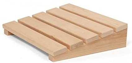 Madera De Abedul Sauna Reposacabezas Cojin De Madera Cojines De - Sauna-madera