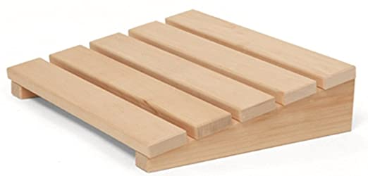 Madera de abedul Sauna Reposacabezas Cojín de madera Cojines ...