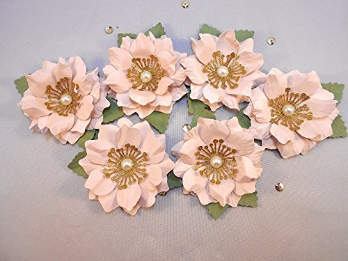 Amazon 25 Loose Paper Flowers Box Toppers Scatter Flowers