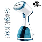ANBANGLIN Travel Clothes Steamer- Top Handheld Steamer For Clothes -Fast Heat-up Portable Steamer - Best Fabric Steam - Garment steamer / Large 260ml Capacity for Clothes At Home & In Travel