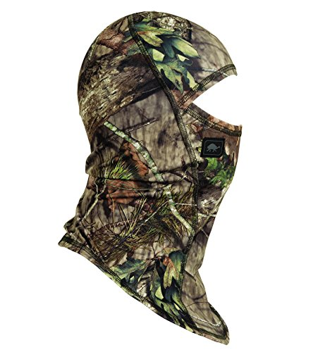 (Turtle Fur Hunting - Comfort Shell UV Ninja, Lightweight Performance Balaclava, Mossy Oak Break Up Country)