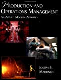 img - for Production and Operations Management: An Applied Modern Approach book / textbook / text book