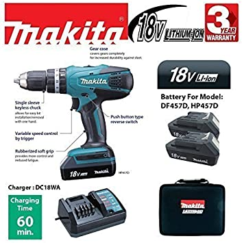 MAKITA CARRYING CASE CANVAS FOR 18v Drills /& Accessories