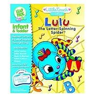 LeapFrog LittleTouch LeapPad Libro: Lulu La araña que gira letras