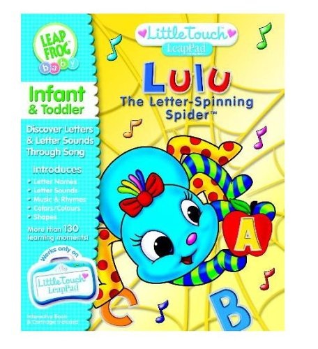 LeapFrog LittleTouch LeapPad Book: Lulu The Letter-Spinning Spider