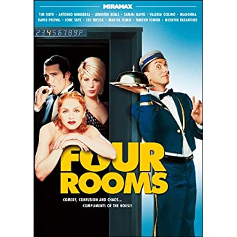 Amazon.com: Four Rooms: Tim Roth, Antonio Banderas, Jennifer Beals ...