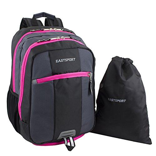 eastsport-ultimate-sport-backpack-free-drawstring-pink-trim